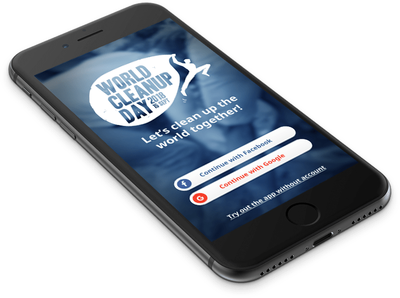 Aplicatia World Cleanup Day