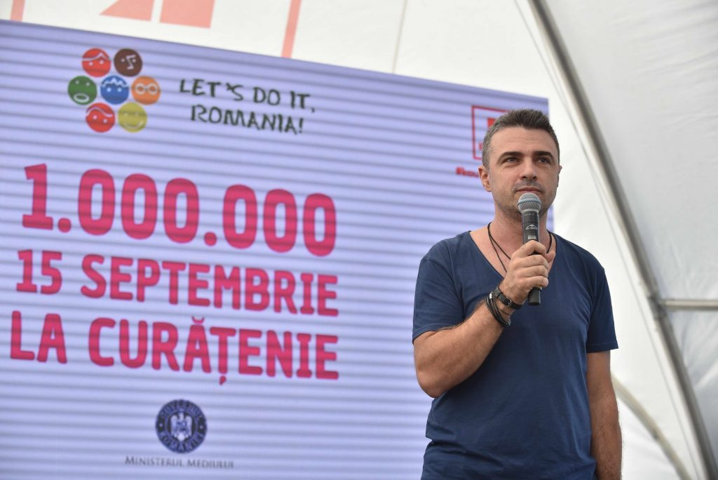 Cornel Ilie Ambasador Let's Do It, Romania!
